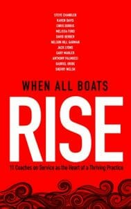 Book cover for Nelson Hill's book, When All Boats Rise